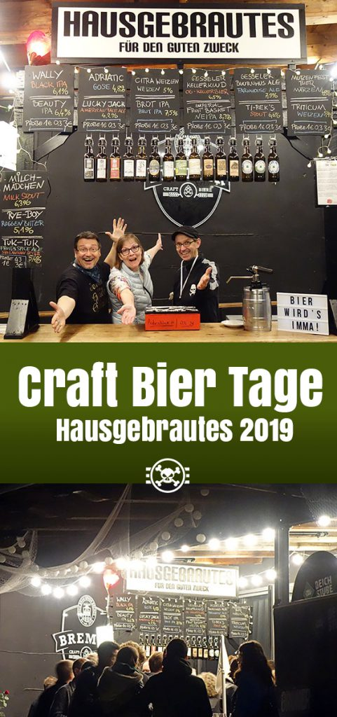 Craft Bier Tage - Hausgebrautes 2019