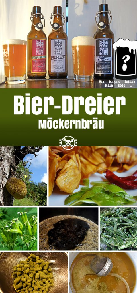 Möckernbräu Bier-Dreier