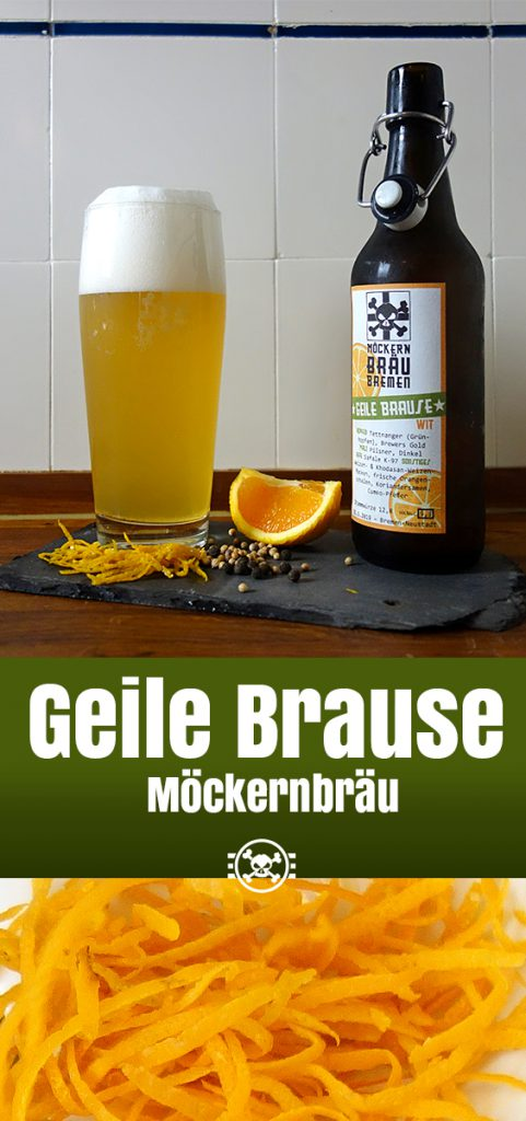 Möckernbräu Geile Brause Witbier