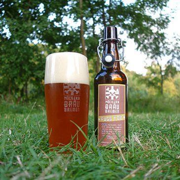 Fugg You: Bier mit Fuggles und Rhabarber