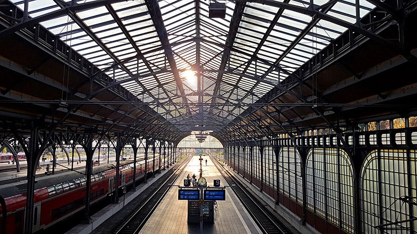 Bahnhof von Lübeck