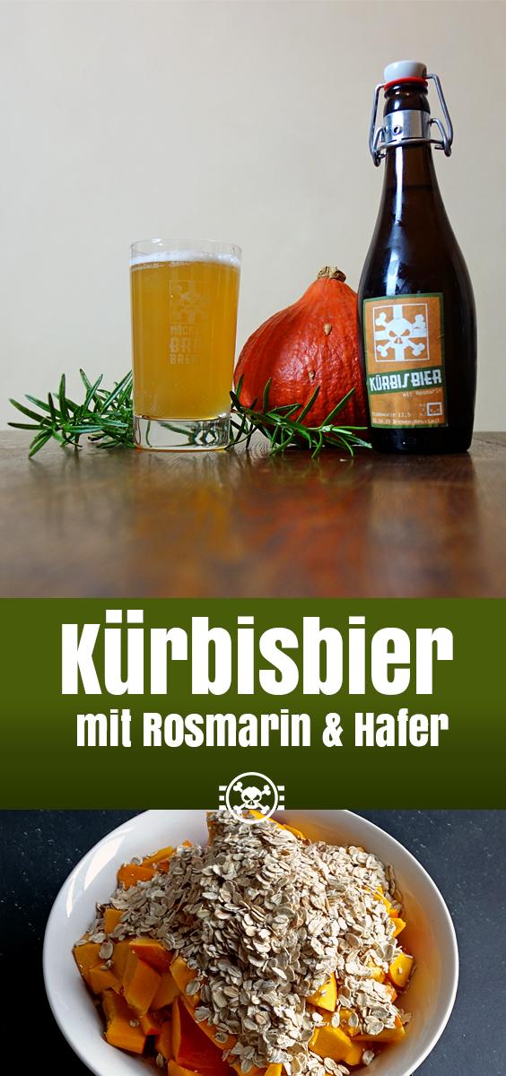 Kürbisbier mit Rosmarin und Hafer