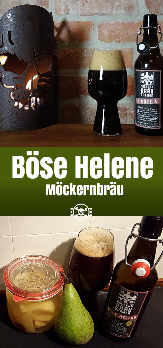 Böses Stout, böse Helene - Möckernbräu