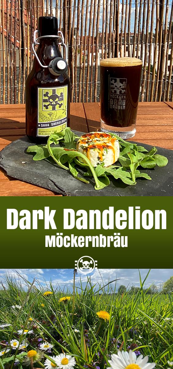 Dark Dandelion - Löwenzahnbier und Ziegenkäse