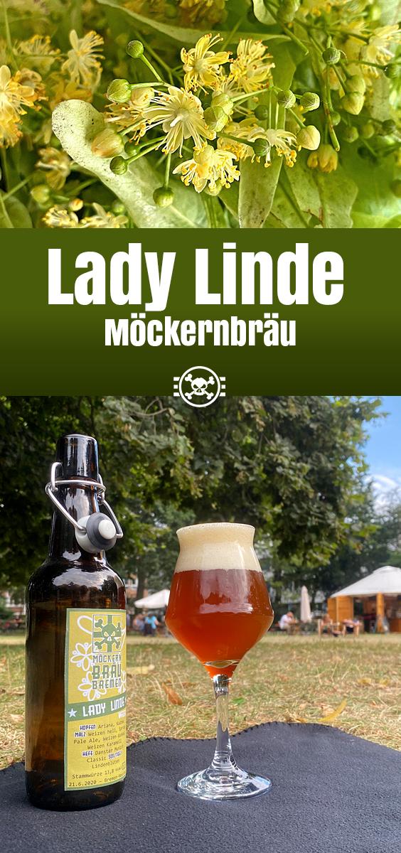 Möckernbräu Lady Linde: Hopfiges Hefeweizen mit Lindenblüten