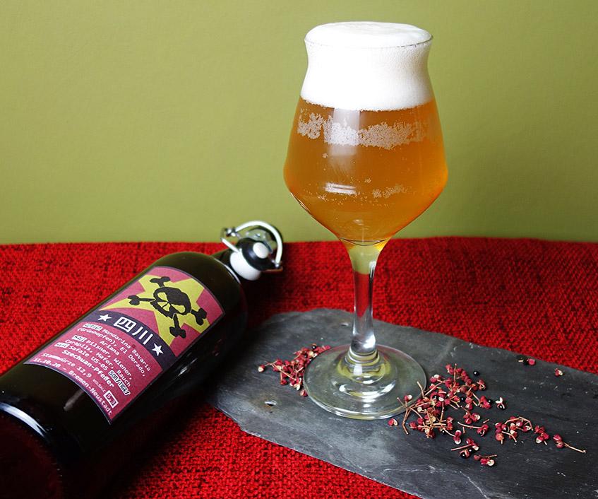 Bier der Dame mit Szechuanpfeffer