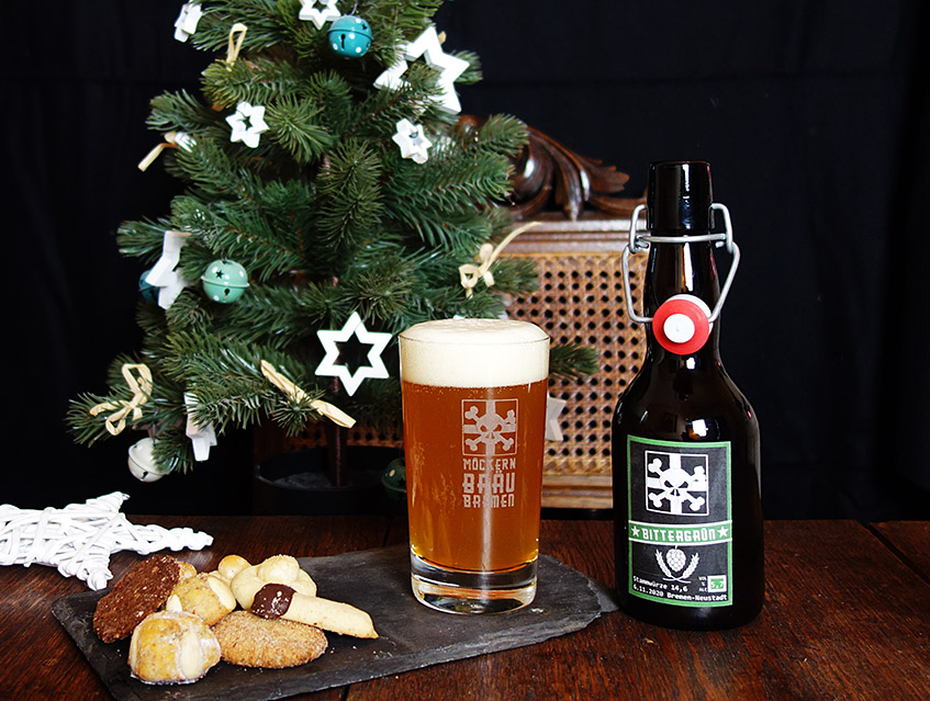 Bier des Herrn mit ordentlich Grünhopfen