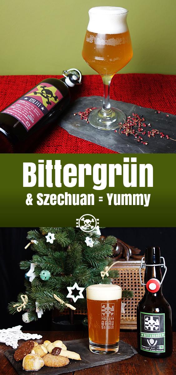 Bittergrün & Szechuan = Yummy - Möckernbräu